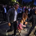 Érkezik a NER-elit a magyar-szlovák meccsre - fotók