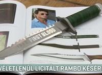 Véletlenül vették meg 20 millióért a Rambo késeket