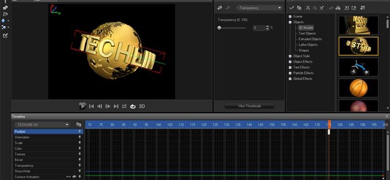 Corel MotionStudio 3D: 3D-s animációk készítése egyszerűen [videóval]