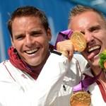 Fotó: Dombi Rudolf és Kökény Roland olimpiai bajnokok