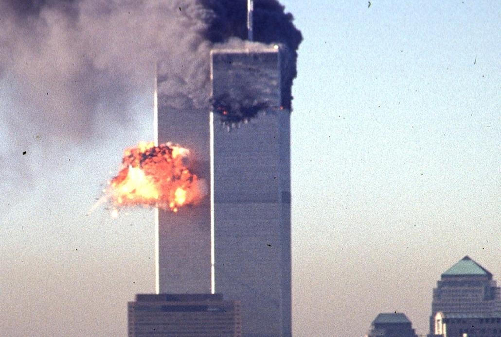 20140910010 - afp.01.09.11. - New York, USA: támadás a világkereskedelmi központ (World Trade Center) ellen- wtc, 911