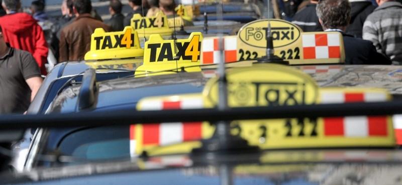"""""""A taxisoknak valakit át kell verniük!"""""""
