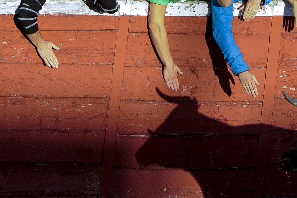 afp. hét képei - bikaviadal, 2014.08.28. Spanyolország, SAN SEBASTIAN DE LOS REYES