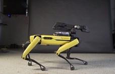 A nap videója: Már táncolni is tud a Boston Dynamics robotkutyája, de még hogy