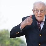 Özönlenek a köszöntések a brit veteránhoz, aki egy vagyont gyűjtött a koronavírus elleni küzdelemre