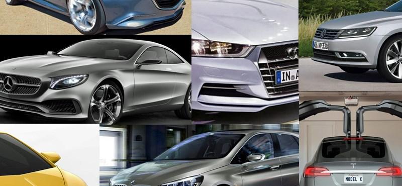 Tíz autó, amit nagyon várunk 2014-ben