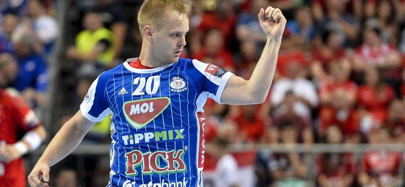 Trónfosztás egyetlen góllal, a Szeged a bajnok férfi kézilabdában