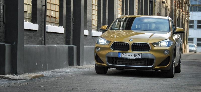 Fix kettes: kipróbáltuk a nyerőnek tűnő BMW X2-est