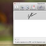 Lion tipp: aláírás készítése PDF dokumentumokhoz a Preview-ban