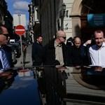 Fotók: A CEU-ra ment elsőként Manfred Weber