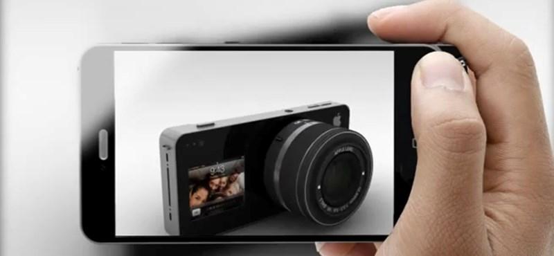 Ilyen lehet(ne) az Apple fényképezőgépe! [videó]