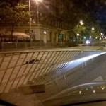 Fotók: A vihar után autós akadálypálya lett a fővárosból