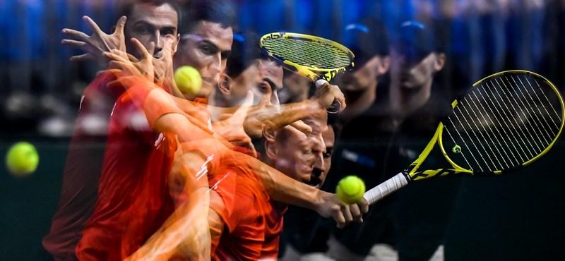 Davis Kupa: Balázs egyenlített, Fucsovics továbbjutás előtt