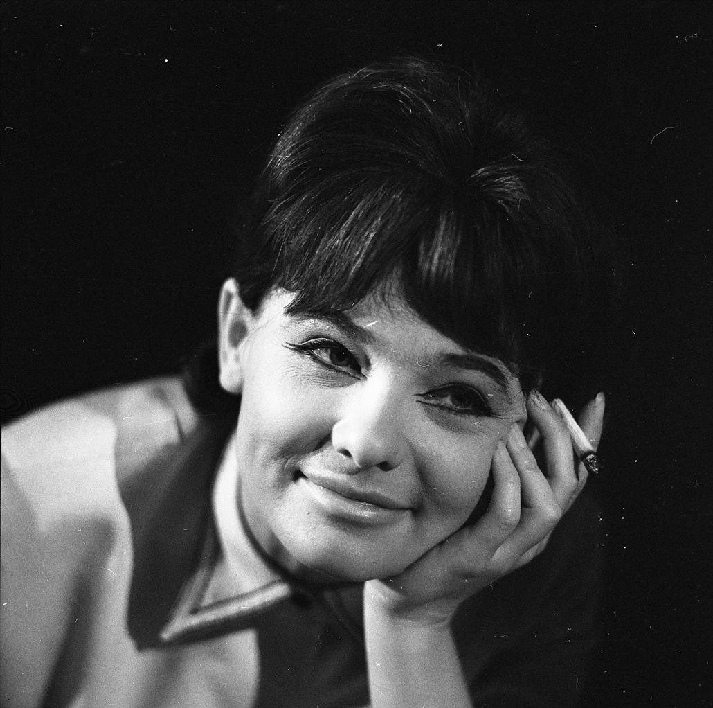 fortepan Törőcsik Mari 1965