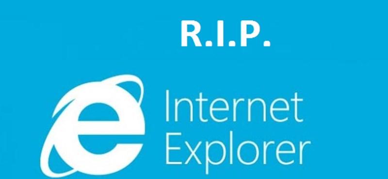 Bemondta a Microsoft, mikor nyugdíjazzák végleg az Internet Explorert