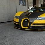 Egyetlen darab létezik ebből az Oakley Design Bugatti Veyronból, ami Budapesten járkál