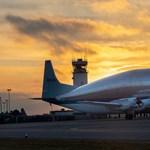 A világ legkülönlegesebb repülőgépét vettette be a NASA az Orion űrkapszula taxiztatásához