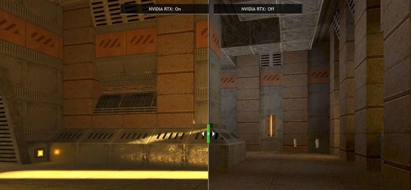 Jön a Quake II felújított változata, és leesik tőle az ember álla