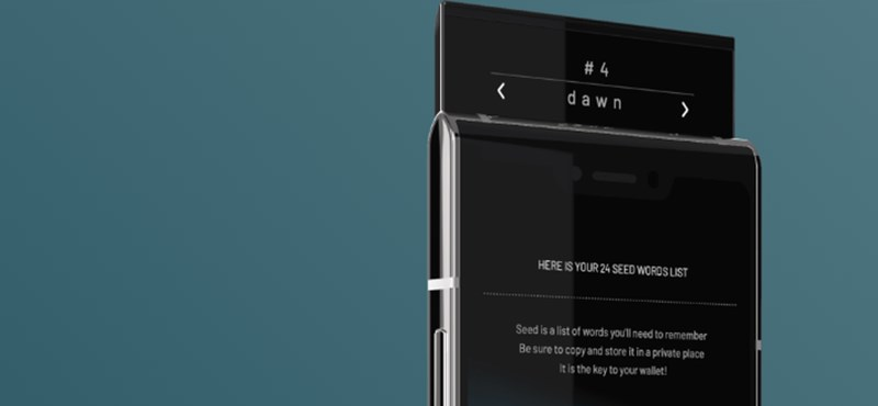 Már árulják a világ első blockchain mobilját
