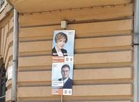 A kampányidőszak kezdete előtt kikerültek a Fidesz plakátjai a VI. kerületben