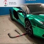 Milliárdos áfacsalási ügyben gyanúsított a luxus Lamborghiniből maszkot osztogató férfi