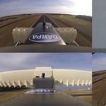 Függőlegesen száll fel, 740 km/h-val megy: tesztelték az új szuperrepülőt – videó
