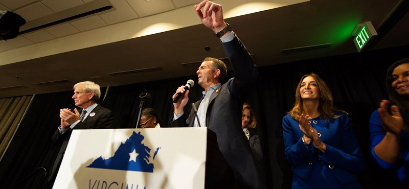 Győztek a demokraták a virginiai kongresszusi választáson