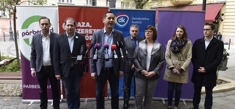 A fél ellenzéki egység megvan Budapesten - itt a bejelentés