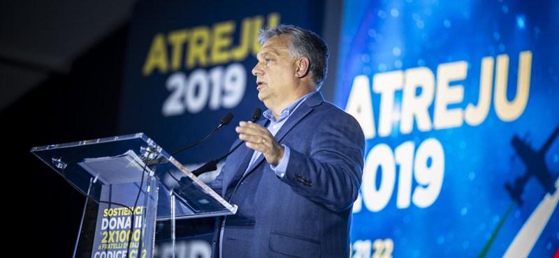 Orbán tréfálkozott: Nehéz vitáim voltak az olasz miniszterelnökkel, mert ő Juventus-szurkoló