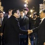 Orbán egy igazán jó budai étteremben vacsoráztatta meg a kínai miniszterelnököt - fotók
