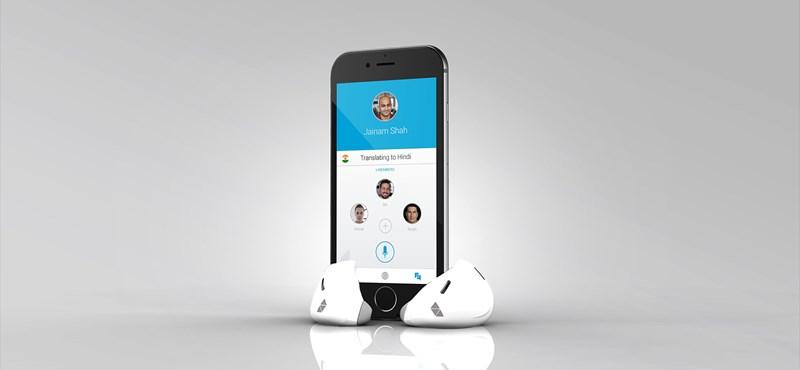 Ez tényleg durva: itt a beszédet valós időben fordító fülhallgató