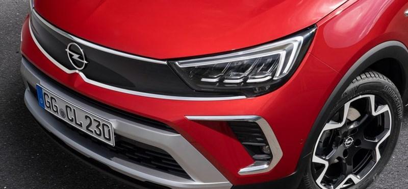 Itt az új Opel Crossland