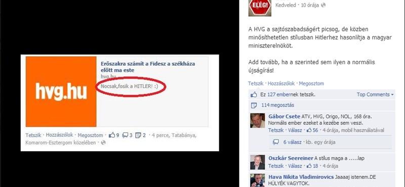 Cigányozás után most hazudik Deutsch Tamás kedvenc Facebook-oldala