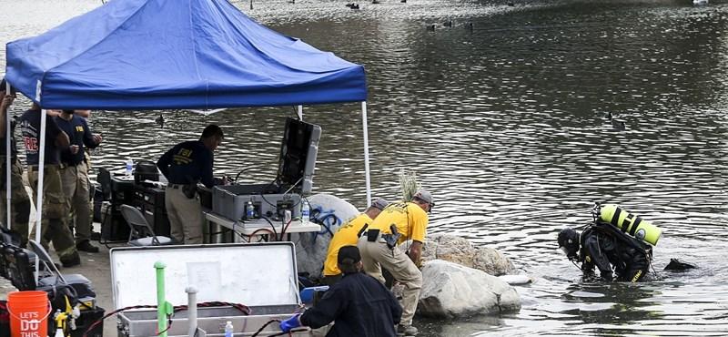 San Bernardinó-i terrortámadás: búvárok kutatnak át egy tavat