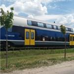 Dunakeszin már látták a MÁV-Start emeletes vonatát - fotók