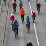Gerillaaszfaltozás Budapesten, örülhetnek a bringások