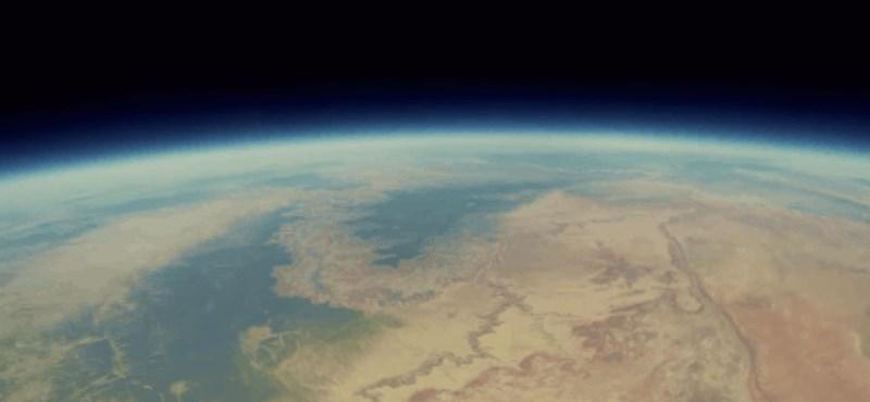 Felküldtek két kamerát az űrbe, 90 perc múlva tértek vissza – ezt látták