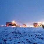 Lezuhant egy orosz utasszállító repülőgép Moszkva közelében