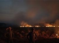 Több száz új tüzet észleltek Brazíliában