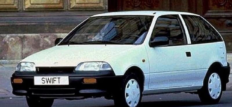 Hihetetlen: idén már oldtimerek lehetnek azok a Suzuki Swiftek, amiket itthon is gyártottak