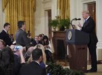 Mostantól csak egy kérdést tehetnek fel az újságírók Trump sajtótájékoztatóin