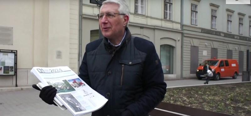 Jolly jokert igazolt az aláírásgyűjtéshez a Kétfarkú Kutya Párt – videó
