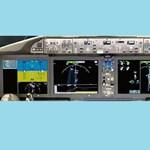 Sharp LCD-kijelzők a Boeing 787 Dreamline-ban