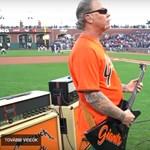 Metallicával indult a baseball meccs San Franciscóban - videó