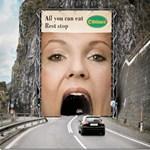 Morbid, sokkoló és vicces: a legextrémebb óriásplakátok - fotók