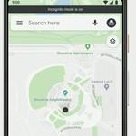"""Inkognitó módot kap a Google Térkép, """"titokban"""" is kereshetünk majd helyeket"""