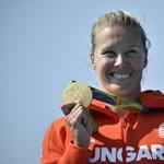 Hazatért Kozák Danuta, a többi aranyérmes szerda reggel érkezik