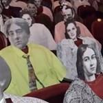 Kartonból készült nézőkkel tartják a távolságot a Csiki Gergely Színházban