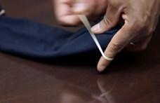 Így tud magának gyorsan, használható szájmaszkot készíteni, varrás nélkül – videó