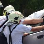 Mint a filmekben: autós üldözés Budakalászon, árokban végezte a rendőrök elől menekülő